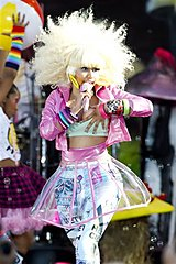 nicki minaj, wardrobe malfunction, black celebrities, black celebrity gossip, hip hop, rappers